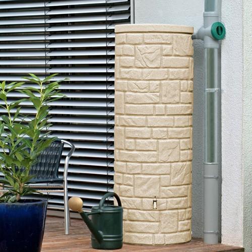 Regentonne 360 Liter Arcado sandstein