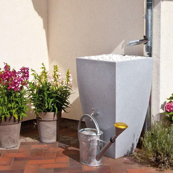 Regentonne 200 Liter Modena granit