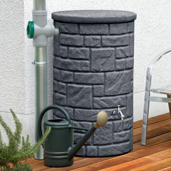 Regentonne 230 Liter Arcado black granit