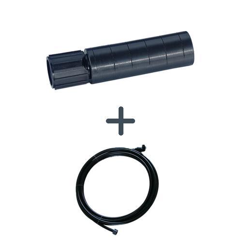 Ø 16 mm 3P Rückspül-Set mit 10 m PE-Rohr