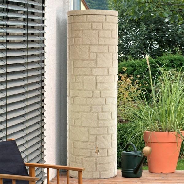 Regentonne 460 Liter Arcado sandstein