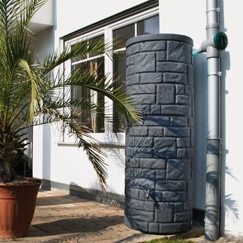 Regentonne 360 Liter Arcado black granit
