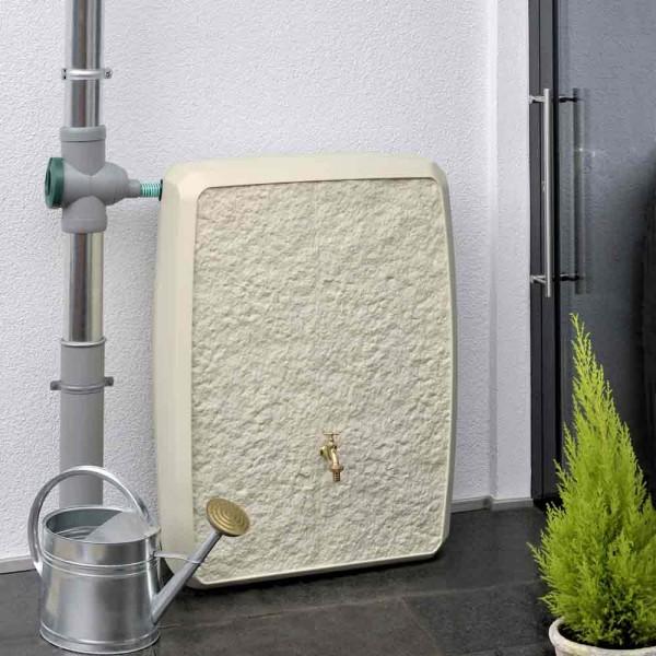 regentonne 250 liter multitank sandstein regentonne mein traumgarten. Black Bedroom Furniture Sets. Home Design Ideas